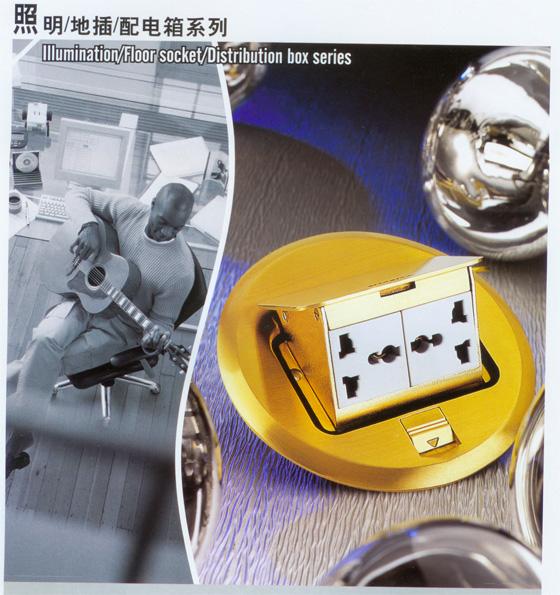 地插-照明/地插/配电箱系列-德力西国际电工平湖总