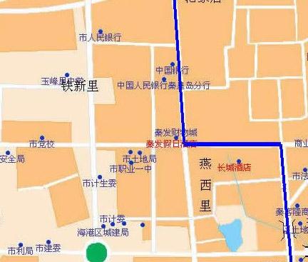 秦皇岛电子地图-秦皇岛旅游网|北戴河家庭旅馆公寓