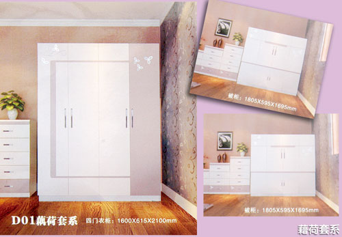 木王家具梳妆台白色欧式