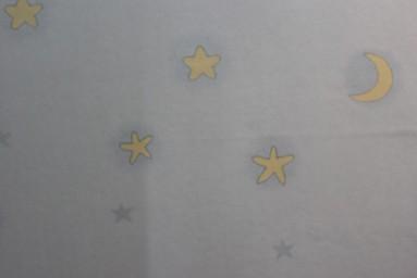 星星月亮图案壁纸(儿童房)