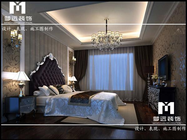 欧式-主卧室 - 家装案例