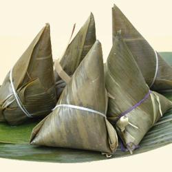 春笋雪菜粽