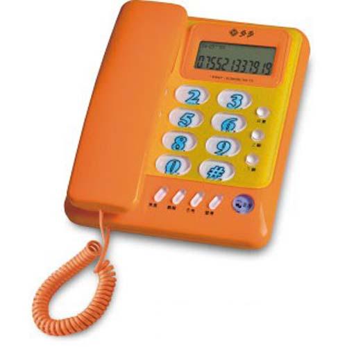 福多多f067 来电显示 分机电话 按键眩光