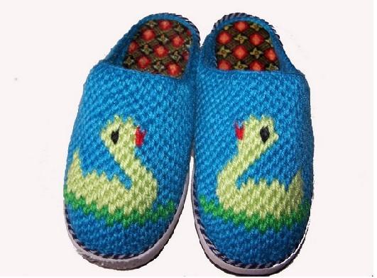 编织拖鞋1-毛衣-红苹果毛线编织产品分类
