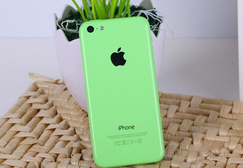 iphone苹果5c 绿色