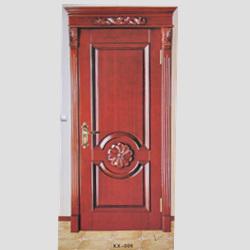 KX-006烤漆实木扣线门