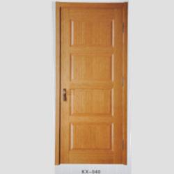 KX-040烤漆实木扣线门