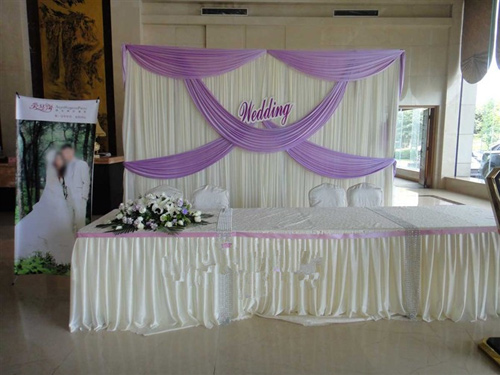婚礼庆典现场——婚庆签到台