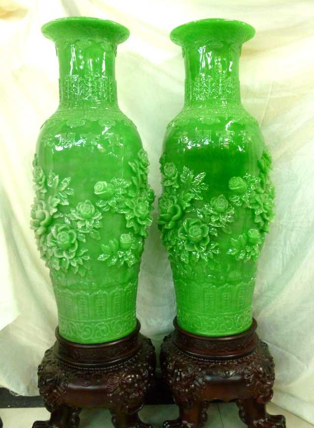 塑料花瓶工艺品制作方法