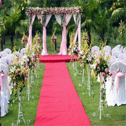 室外婚礼场景布置_室外婚礼布置效果图 _排行榜大全