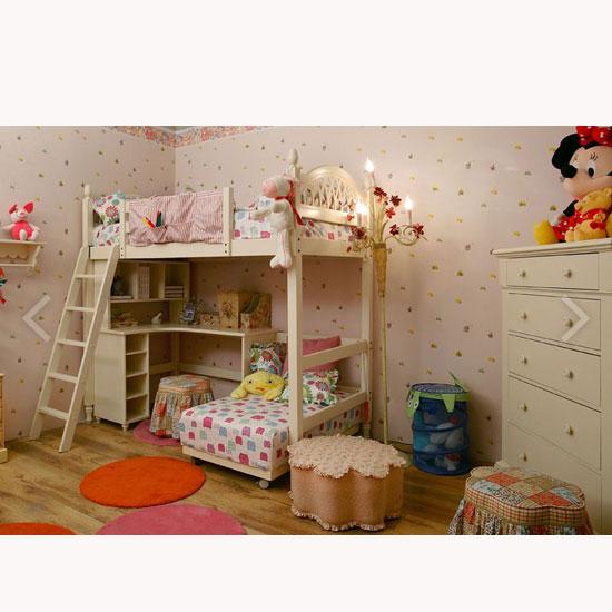 儿童家具-双层儿童床