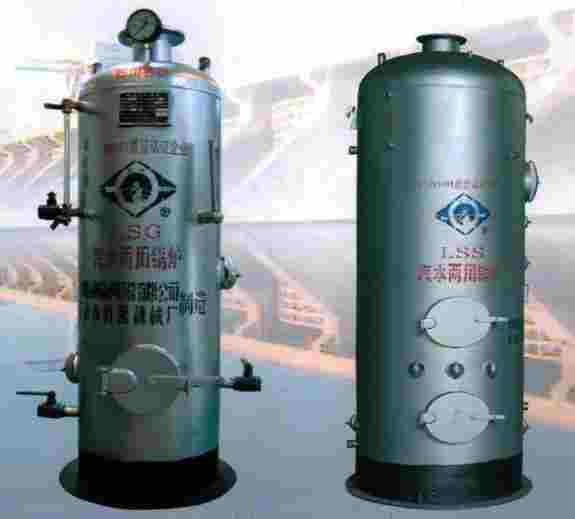 排水管燃煤汽水两用锅炉