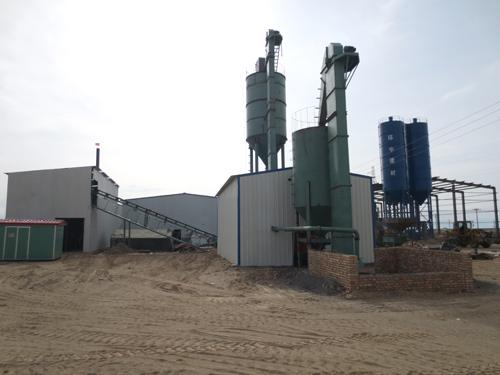 设备罐安装及钢结构厂房