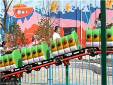 双鸭山大型儿童游乐设备青虫滑车41米轨道可变化造型创艺火爆热销