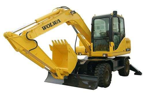 大挖机出租公司讲述挖掘机的基本工作原理   液压挖掘机的基本工作原图片