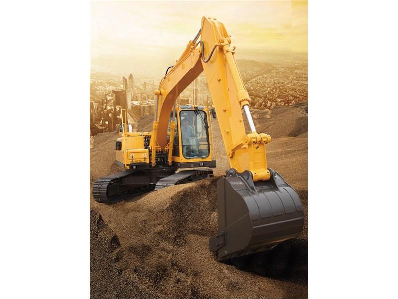 大挖机出租公司讲述挖掘机怎样进行检查维护   挖掘机上应用液压传动图片