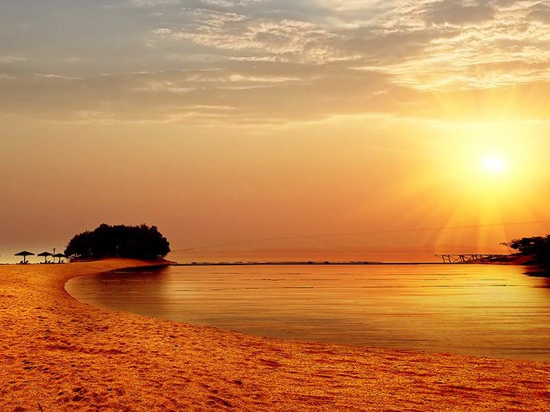 庐山西海渔村-沙滩岛