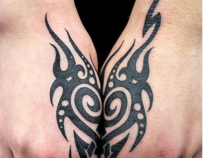 纹身画法步骤图