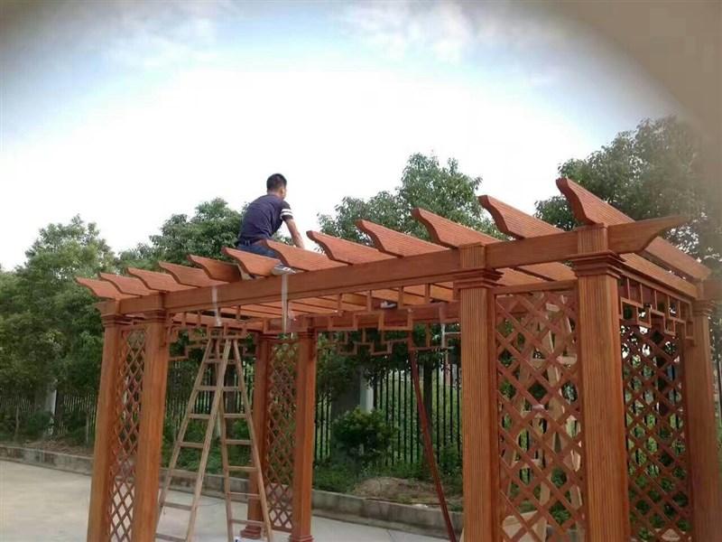 铝艺葡萄架_万州钢构公司_ 重庆禹实钢结构有限公司