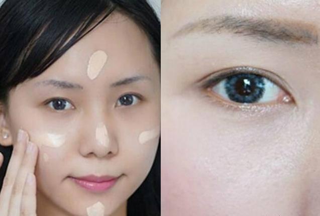化妆的正确步骤 对皮肤进行基础护理后,使用适量的bb霜均匀涂抹于全