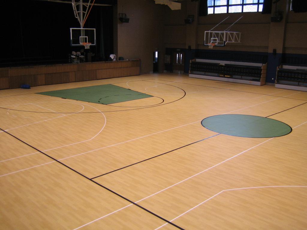 【昆明地板厂家直销】昆明新浩力地板公司,硬度越高体育馆运动木地板