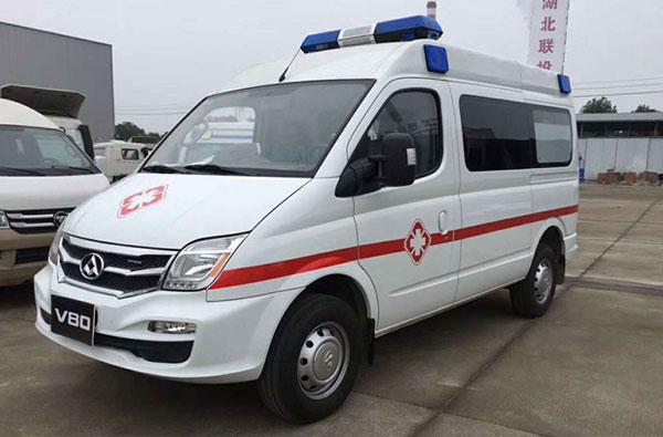监护型v80救护车厂家