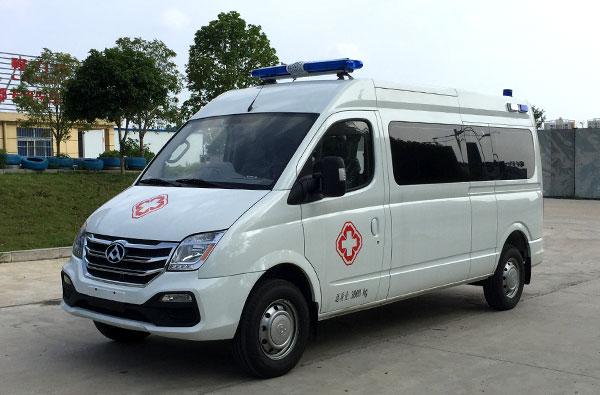 上汽大通v80救护车价格