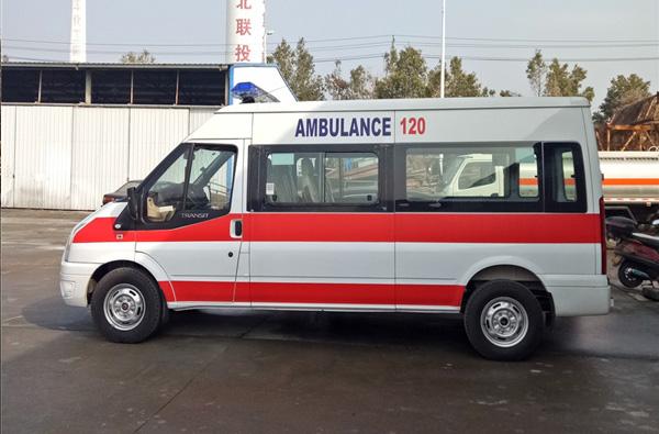 山东福特v348救护车直销