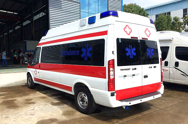 广元福特v348救护车厂家专卖