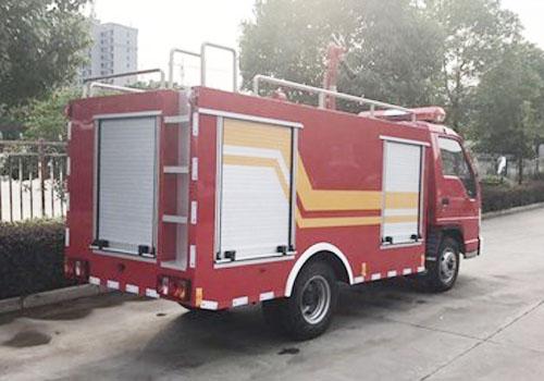 幼儿大班消防车绘画图片
