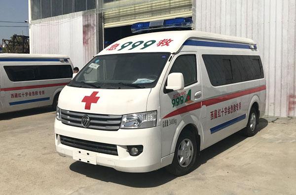 黄南福田转运型救护车参数