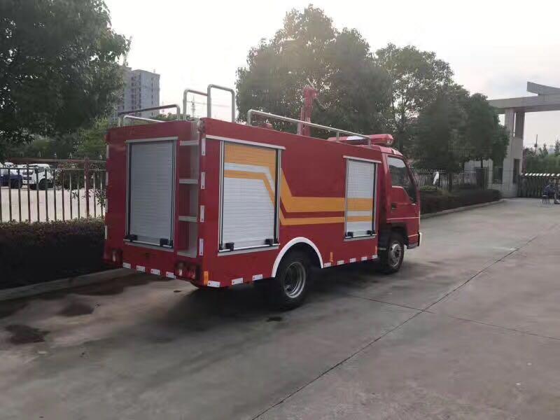 内2吨社区消防车功能介绍