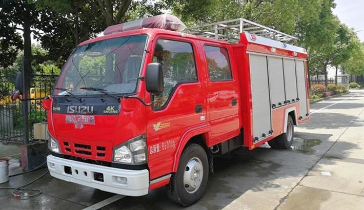 五十铃2吨消防车价格