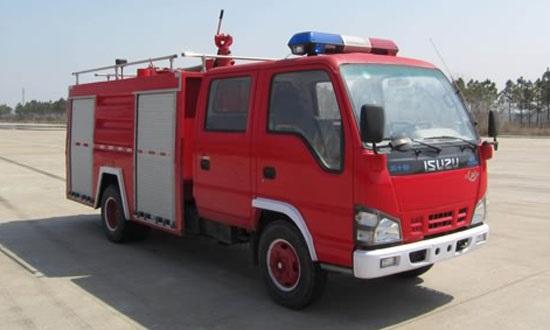 广东庆铃水罐消防车报价
