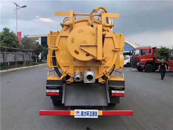 东风14吨管道疏通车价格
