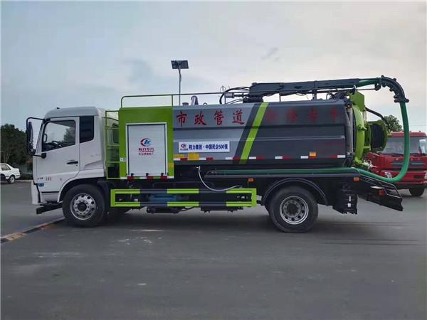 国六14吨多功能吸污车专卖