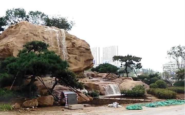 忻州山景观施工工艺