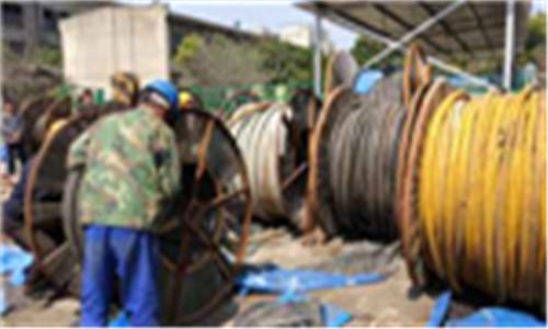巩义铝电缆回收现在现货报价电话