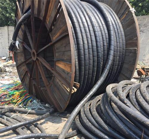内蒙古乌海带皮电缆回收19年目前价格