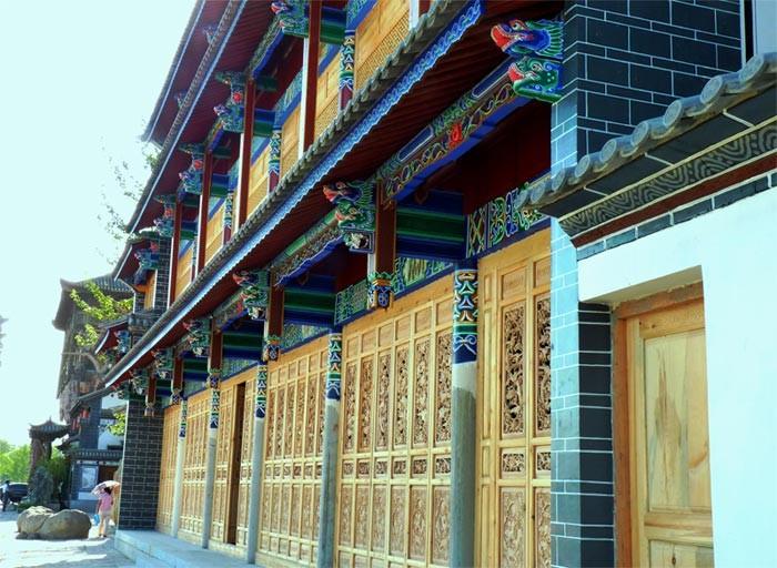 秦皇岛中大装饰仿古建筑建筑分类