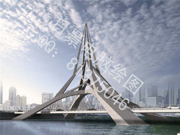 道路桥梁效果图5