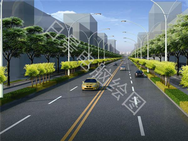 道路桥梁效果图1