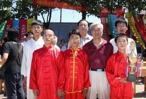 张全亮老师应邀参加任丘阴阳八盘掌研究会成立五周年庆祝大会