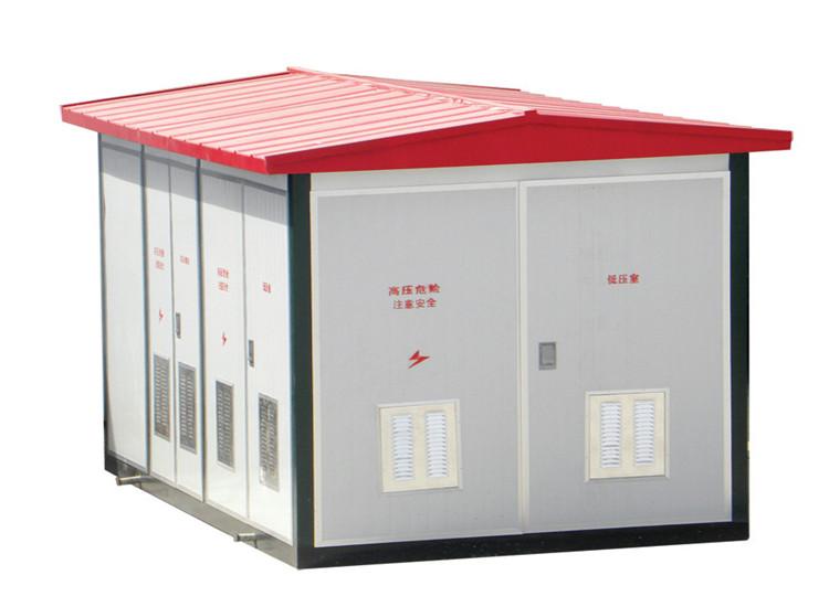 箱式变压器并不只是变压器,它相当于一个小型变电站,属于配电站,直接图片