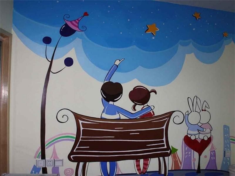 墙体彩绘作品