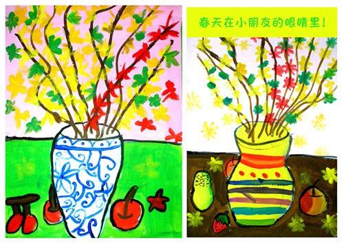 儿童画_儿童画_燎原画室