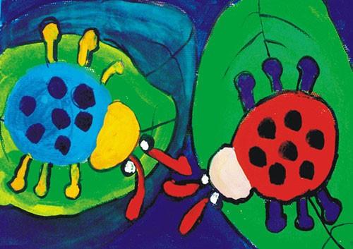 小孩子画画-儿童画