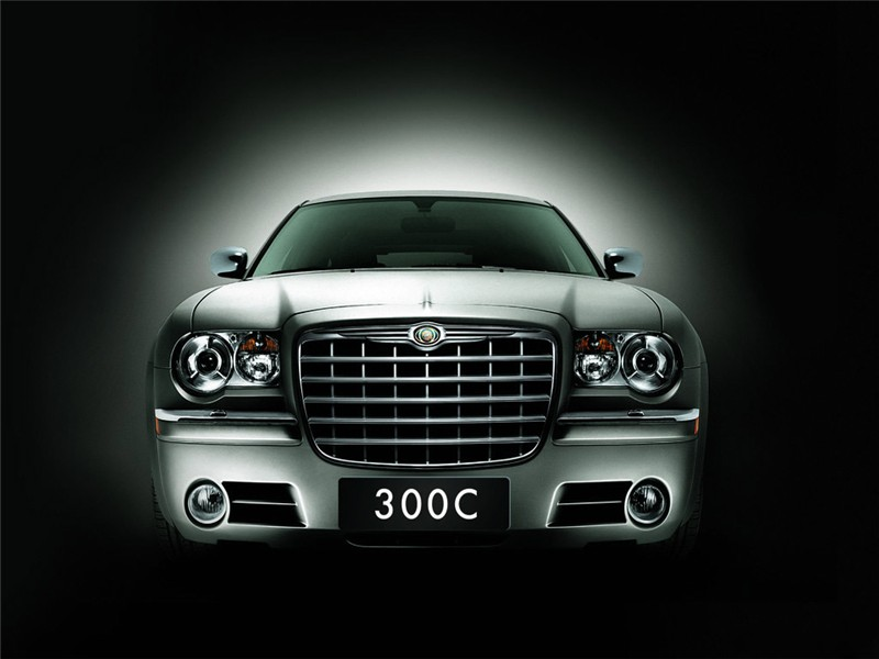 克莱斯勒300c 北京戴姆勒 合资品牌 轿车 车头 汽车 交 高清图片