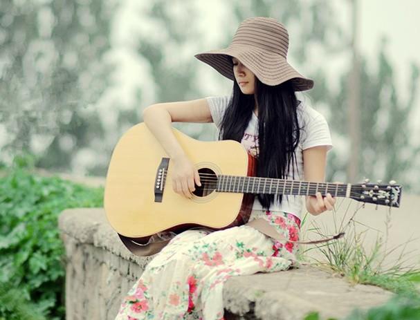 吉他钢琴情侣头像