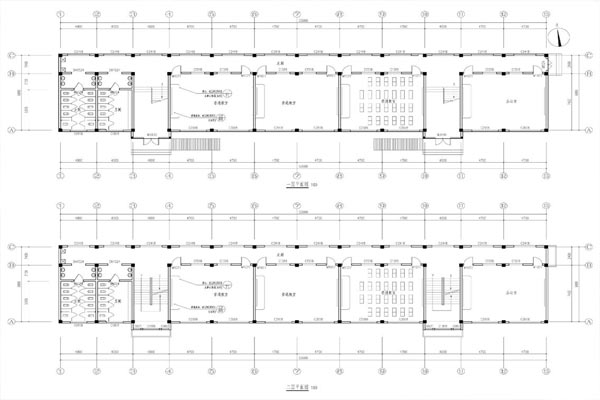 鱼台县王庙镇周堂中学教学楼,宿舍楼建筑设计方案批前